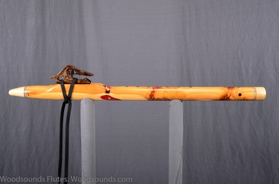 NEW- One of a Kind Fancy Oregon Spirit Flute