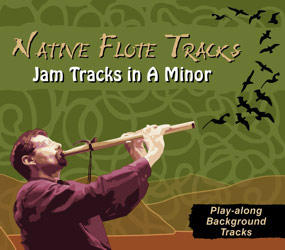 Native Flute Tracks - Jam Tracks in A Minor By Manifest Spirit Records