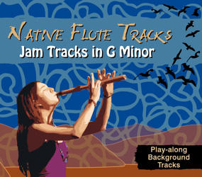 Native Flute Tracks - Jam Tracks in G Minor