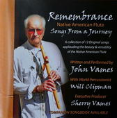 Remembrance - Songs from a Journey CD By John Vames