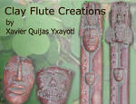 Clay Flutes by Xavier