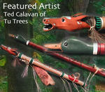 Tu Trees Flutes by Ted Calavan
