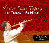 Native Flute Tracks - Jam Tracks in F# Minor