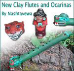 Clay Flutes and Ocarinas